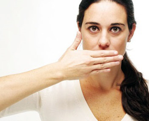 побороть запах изо рта